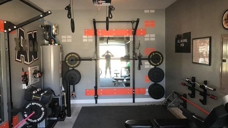 Garage gym of the week: jay and michelle