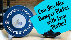 How Can You Mix Bumper Plates With Iron Plates?