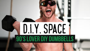 DIY | 90s Lover Dumbbells