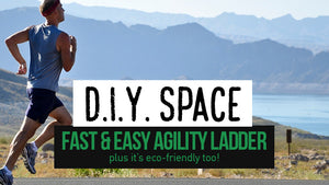 DIY Space | Fast & Easy Agility Ladder