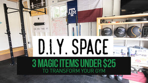 DIY Space | 3 Magic Items Under $25 to Transform Your Gym