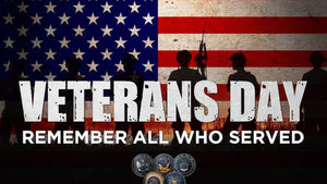 In Honor of Veterans Day 2018, We Say Thanks to Our Veterans