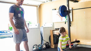 Model lifting for and with your kids. It's worth it