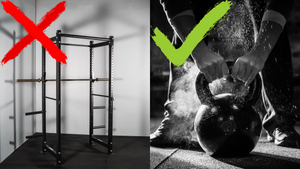 The only two items you'll need for a garage gym (that aren't a squat rack!)