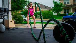 WOD of the Week: Battle Rope / Sled Circuit