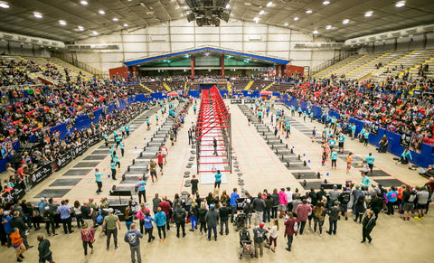 The Fittest Experience competition floor