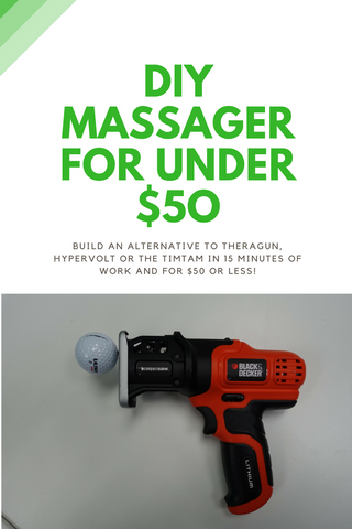 How To Build A Diy Percussion Massager Massage Gun For