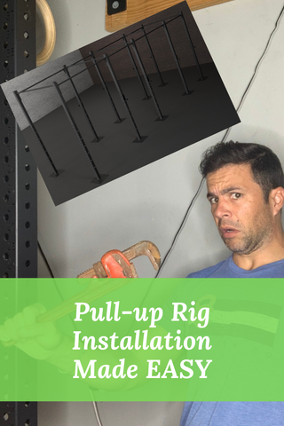 Floor mounted pullup rig installation made easy