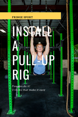 How to install a CrossFit / Pull-up rig
