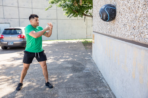 5 Wall Ball Exercises to Workout Your Full Body