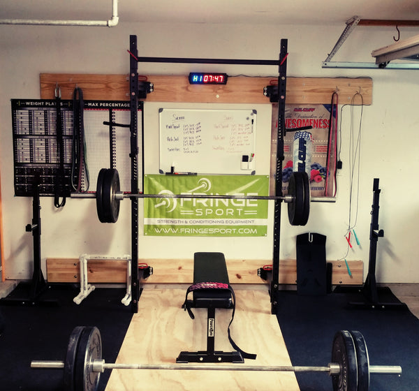Garage gym of the week sarah m sean g