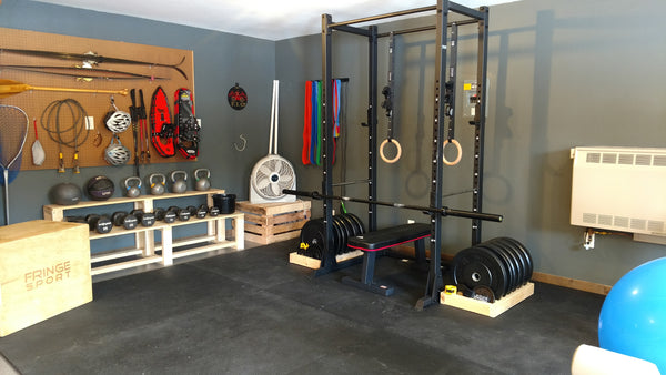 Garage gym of the week liz s