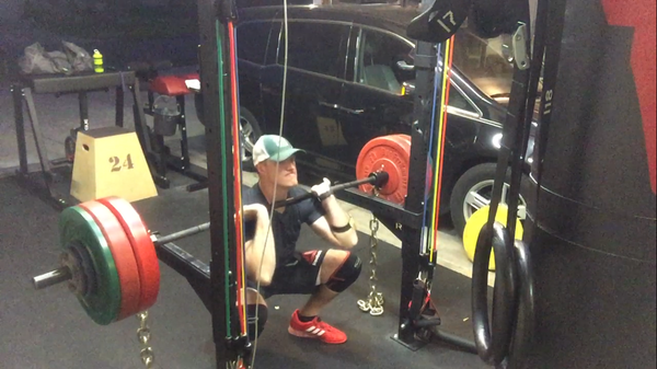 Garage gym of the week: randall wise