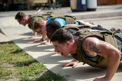 doing the Murph