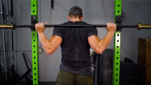 bar positioning for low bar squats