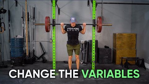 change the variables in your squat workout