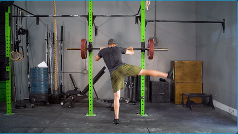 dynamic stretching for squats