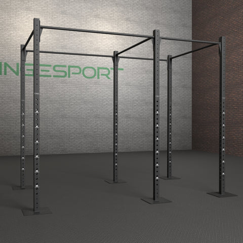 Now you have a rectangular crossfit pullup rig
