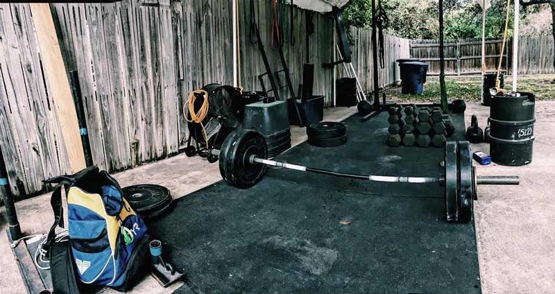 Garage gym of the week marco de leon