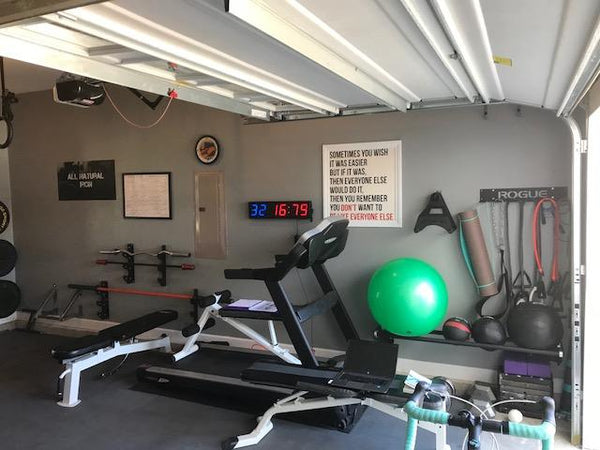 Garage gym of the week jay and michelle