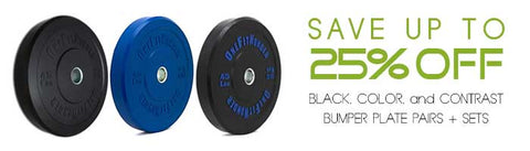 Bumper Plates On Sale for Black Friday