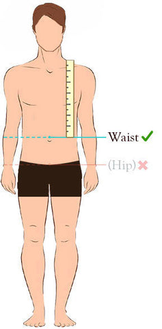 man waist measurement