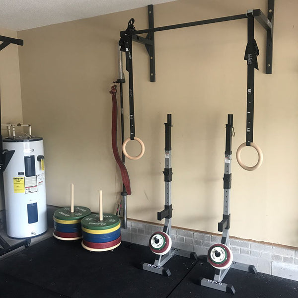 Garage gym of the week daniel jackson