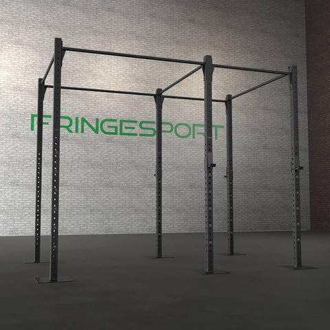 Floor mounted pull-up rig, fully installed. Instructions below