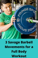full body barbell movements