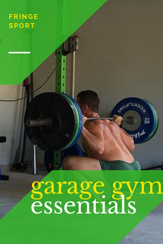 The garage gym essentials - everything you need and nothing you don't!