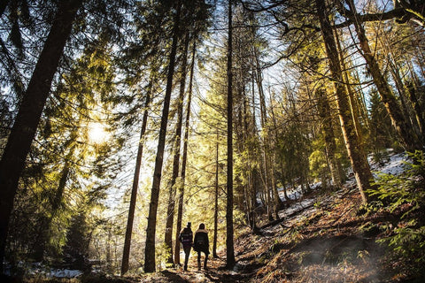 hiking workout to fight stress