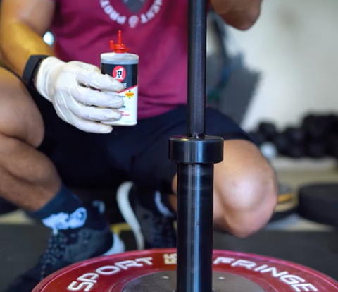 how to clean a barbell