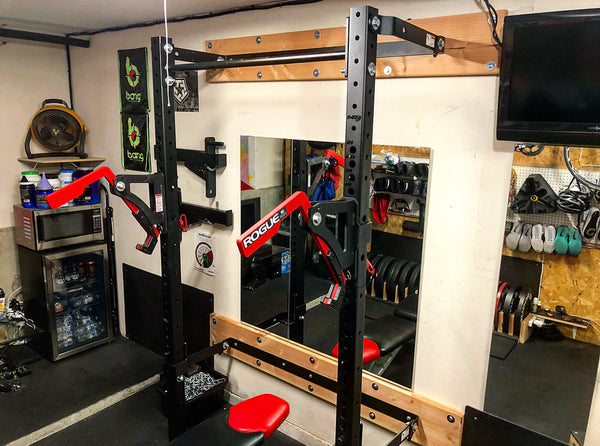 Garage renovation into gym garage makeovers before and after