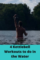 kettlebell workouts in water