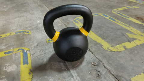 Prime Kettlebell in garage