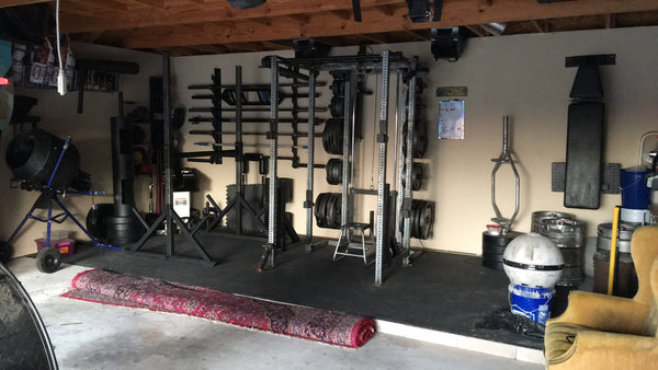 Garage gym of the week david fells