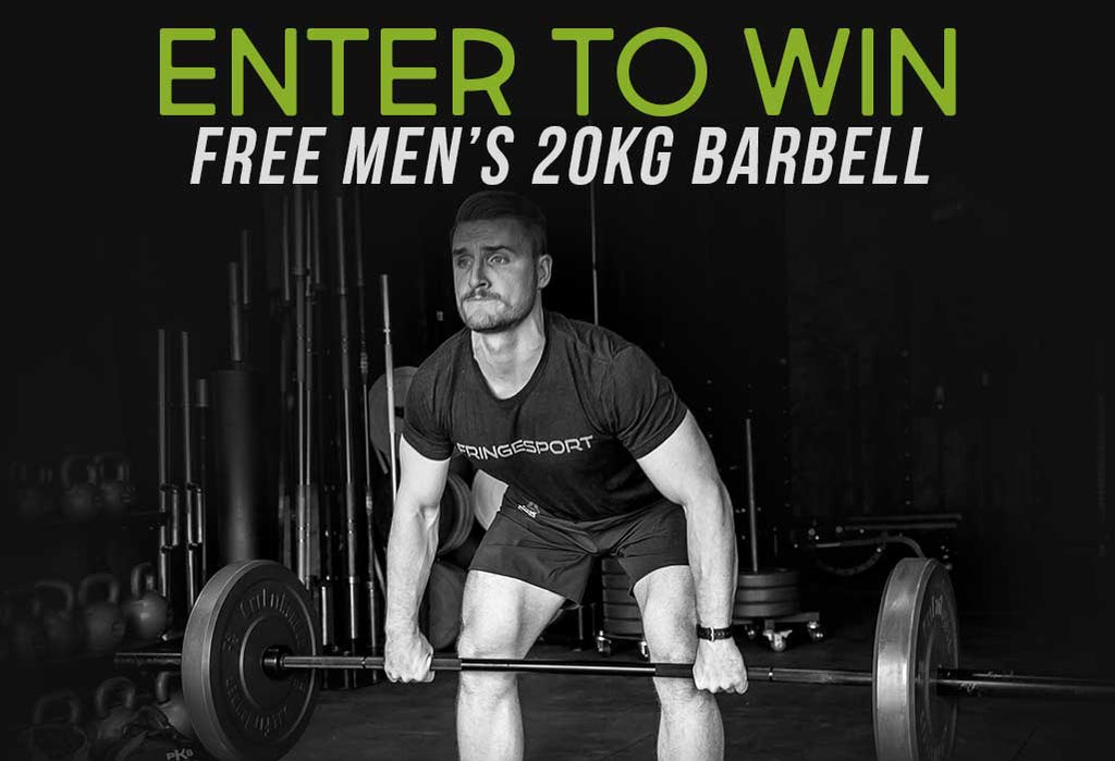 win a free barbell