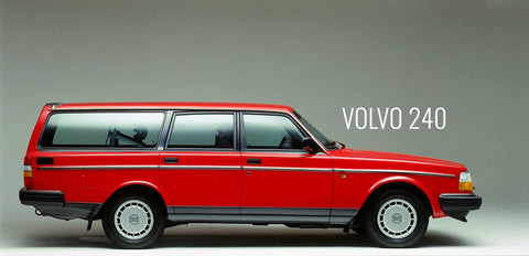 The beautiful Volvo 240 Wagon- this is NOT an Eleiko bumper plate