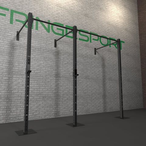 Wall mounted pull-up rig, fully installed. Instructions below