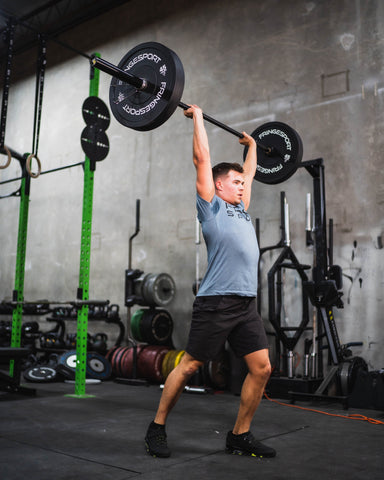 the point of bumper plates is that they can be dropped from overhead