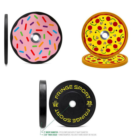 Mix 'n Match Bumper Plate Sets (4475550433327)