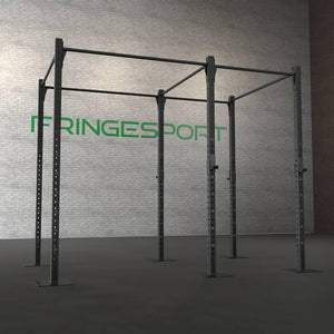 "Floor Mount Gym Rig 3""x3"""