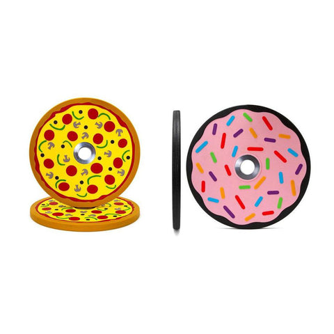 Pizza & Donut Bumper Set (10lb Pair) (4434598756399)