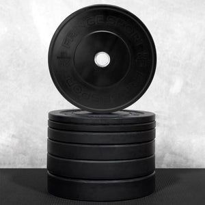 Black Bumper Plate Sets