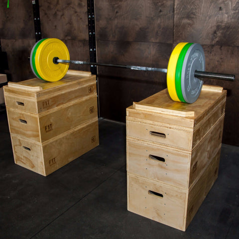 "36"" Jerk Block Set w/ Weight"