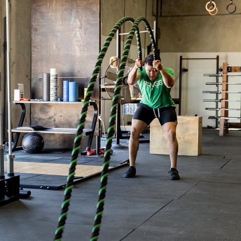 battles ropes for strength \u0026 conditioning fringesport equipment