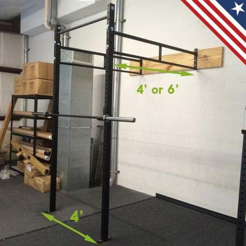 wall mount garage rig by bomba for weightlifting and strength trainingwall mount garage rig