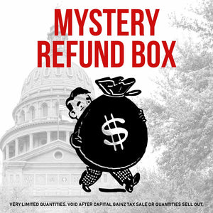Capital Gainz Tax Sale | Mystery Boxes