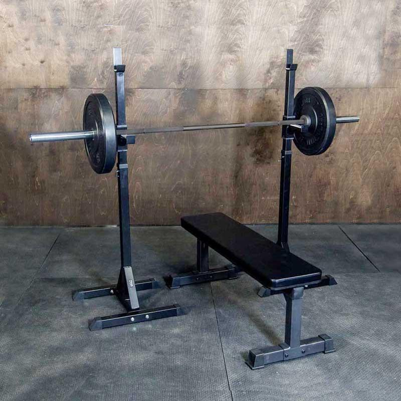 indy econ squat rack stand for strength and conditioning trainingindy squat rack garage series