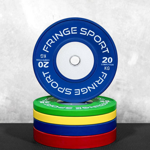 Color Competition Bumper Plates - Kilos